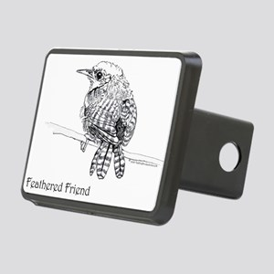 Feathered Friend Wren Rectangular Hitch Cover