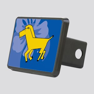 Horse Rectangular Hitch Cover