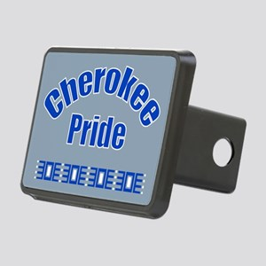 Bold Cherokee Pride Rectangular Hitch Cover