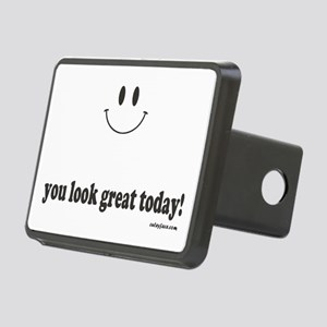 you look great today Rectangular Hitch Cover