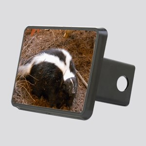 Friendly Little Skunk Rectangular Hitch Cover