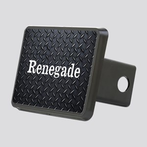 Renegade Diamond Plate Rectangular Hitch Cover