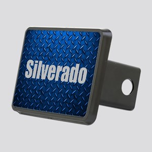 Silverado Diamond Plate Rectangular Hitch Cover