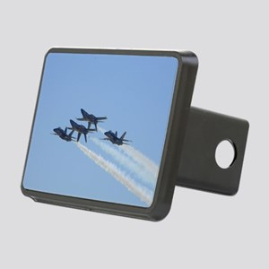 Blue Angels over Texas Rectangular Hitch Cover