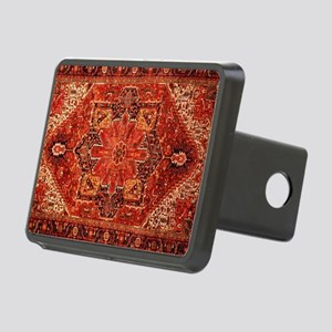 Antique Persian Rug Red Carpet Hitch Cover