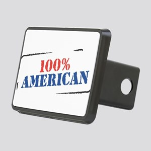 100% american Rectangular Hitch Cover