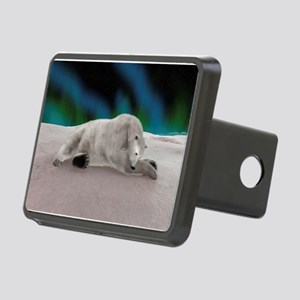 Polar Bear Resting Hitch Cover