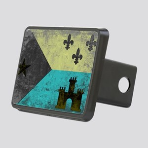 Vintage Grunge Acadian Fla Rectangular Hitch Cover