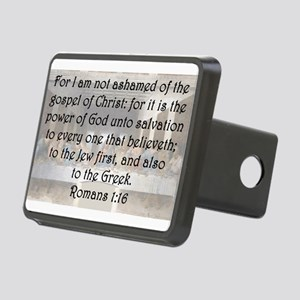 Romans 1:16 Hitch Cover