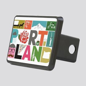 Unique Portland - Block by Rectangular Hitch Cover