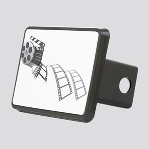 Film Reel Rectangular Hitch Cover