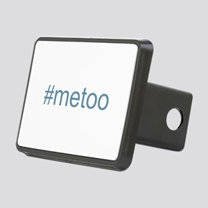 metoo w Hashtag Rectangular Hitch Cover