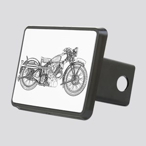 1935 Motorcycle Rectangular Hitch Cover