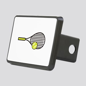 TENNIS RACQUET & BALL Hitch Cover