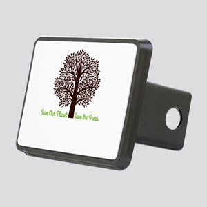 Save our Planet! Rectangular Hitch Cover