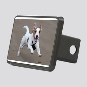 running 2 jack russell terrier Hitch Cover
