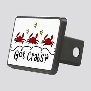 Got Crabs? Rectangular Hitch Cover