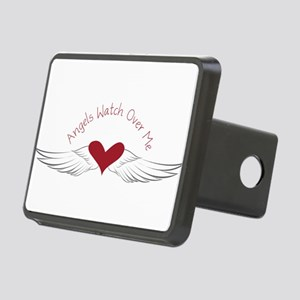 Angels Watch Rectangular Hitch Cover