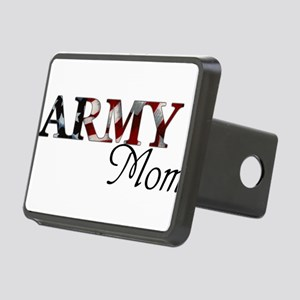 Mom Army_flag  Rectangular Hitch Cover