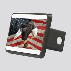 United States of America p Rectangular Hitch Cover