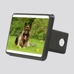German Shepherd Rectangular Hitch Cover