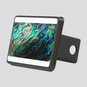 Iridescent Sea Shell Rectangular Hitch Cover