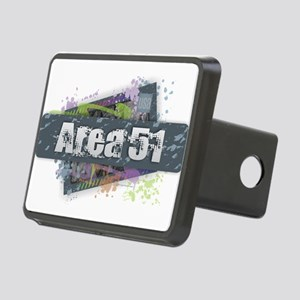 Area 51 Design Rectangular Hitch Cover