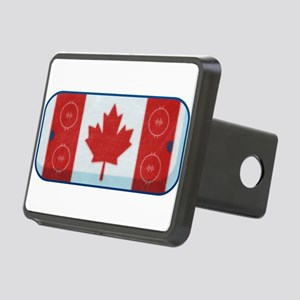 Hockey Rink Flag Rectangular Hitch Cover