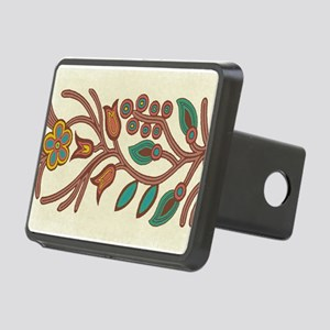 Ojibway Floral Rectangular Hitch Cover