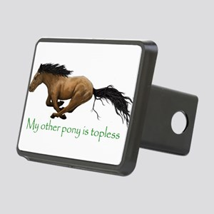 my other pony is topless Hitch Cover