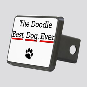 The Doodle Best Dog Ever Hitch Cover