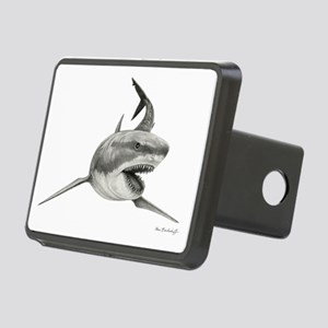 Great White Shark ~ Rectangular Hitch Cover
