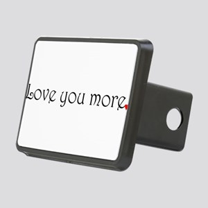 Love You More Hitch Cover