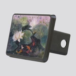 Koi fish Rectangular Hitch Cover