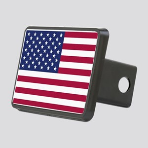 American Flag Rectangular Hitch Cover
