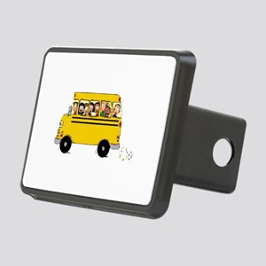School Bus with Kids Hitch Cover