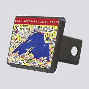 LSCircle_PrintFramed Rectangular Hitch Cover