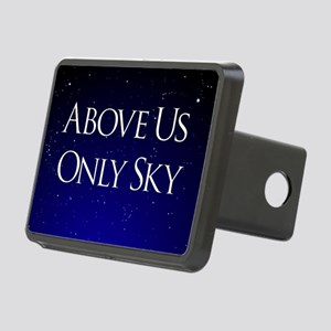 above us only sky Rectangular Hitch Cover