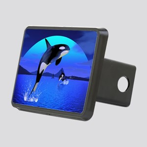 orca_Rectangular Canvas Pi Rectangular Hitch Cover