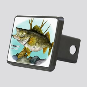 Walleye Rectangular Hitch Cover