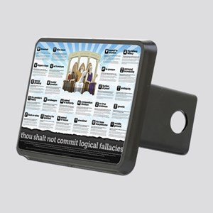 Thou Shall Not Commit Logi Rectangular Hitch Cover