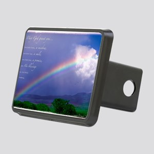 Rainbow Blessing Rectangular Hitch Cover