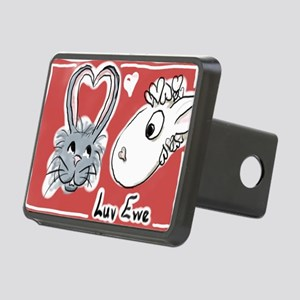 Luv Ewe! Rectangular Hitch Cover
