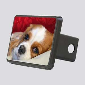 Blenheim Cavalier King Cha Rectangular Hitch Cover