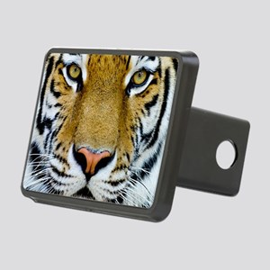 Big Cat Tiger Roar Rectangular Hitch Cover