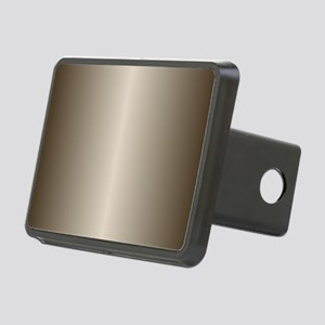 Bronze Metallic Shiny Rectangular Hitch Cover