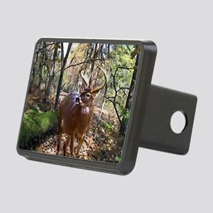 Woodland Buck Deer Rectangular Hitch Cover