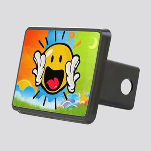 Surprise Face Rectangular Hitch Cover