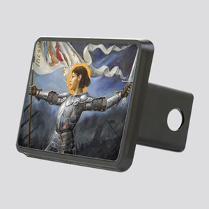 Joan_of_Arc_Prov_fin_sligh Rectangular Hitch Cover