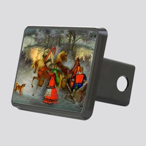 Let's Go For a Ride Rectangular Hitch Cover